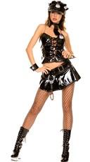 Flirty Police Officer Vinyl Costume