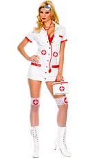 Plus Size Sexy Doctor Costume