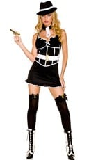 Nightie Gangster Costume