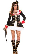 Cute Captain Costume