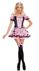 Pink Couture Queen of Hearts Costume