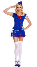 Sassy Sailor Girl Costume