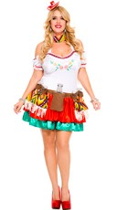 Plus Size Tequila Princess Costume