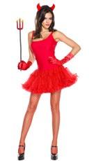Spaghetti Strap Petticoat Dress