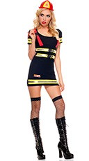 Fire Hazard Honey Costume