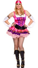 Plus Size Temptress Gypsy Costume