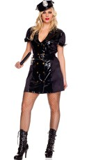 Plus Size Handcuff Honey Cop Costume