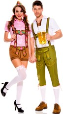 Beer Festival Couples Costume