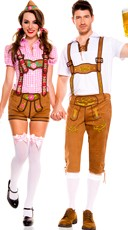 Beer-ly Feeling It Couples Costume