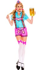 Lady Lederhosen Beer Girl Costume