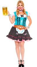 Plus Size Miss Oktoberfest Beer Champion Costume