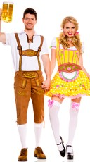 Bottoms Up Couples Costume