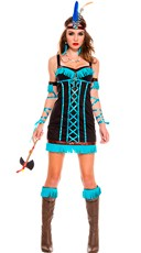 Native Princess Warrior Costume