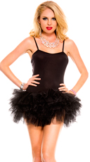 Stretch Cami with Attached Tutu