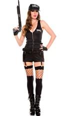 Sultry SWAT Patrol Costume