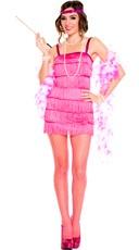 Flirtatious Fringe Flapper Costume