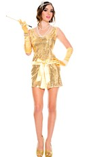 Vintage Glam Hottie Flapper Costume