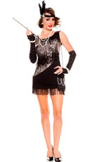 Sequin Sparkly Fearless Flapper Costume