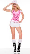 Miss Curve Baller Baseball Costume