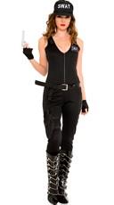 Sexy SWAT Babe Costume
