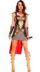 Plus Size Sexy Roman Warrior Costume