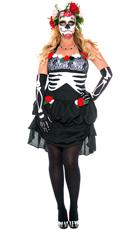 Plus Size Ms. Muerte Costume