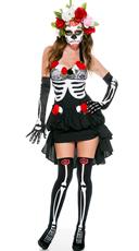 Mrs. Muerte Costume