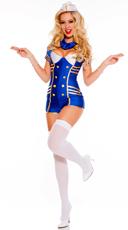 Provocative Stewardess Costume