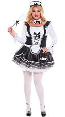 Plus Size Pretty and Proper Maid Costume