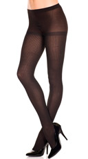 Polyester Ribbed Tights