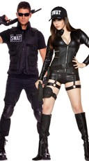 SWAT Commanders Couples Costume