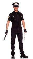 Mens Police Officer Costume