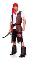 Men's Swashbuckling Pirate Costume