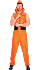 Men's Escaped Convict Costume
