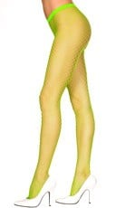 Seamless Diamond Net Pantyhose