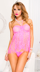 Fringed Babydoll and G-String