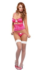 Satin Bra and Waist Cincher Set