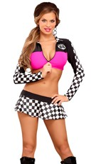 Raceway Hottie Lingerie Costume