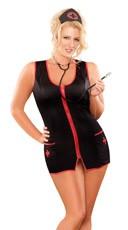 Plus Size Nurse Bettie Costume
