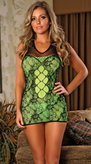 Seamless Lace Strapped Chemise