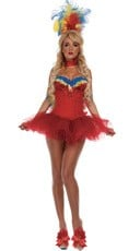 Deluxe Macaw Parrot Costume