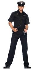 Men's Cop Costume/ Police Costume