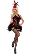 Burlesque Woman Costume