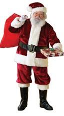 Extra Large Crimson Santa Costume