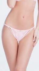 Eyelash Lace Thong