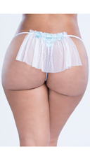 Plus Size Birds Of Love Bridal Thong