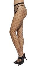 Open Fishnet Pantyhose