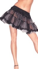 Reversible Black and White Petticoat