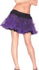 Reversible Purple and Black Petticoat