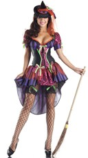 Naughty But Nice Witch Costume